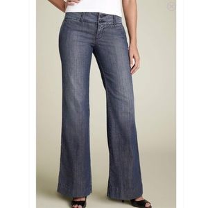 Lucky Brand Dark Wash 5th Avenue Trouser Jeans 25